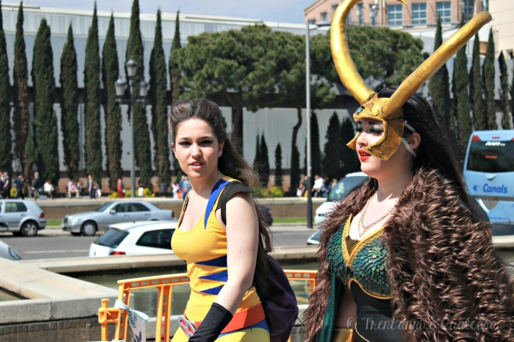 Salone Comic Barcellona Cosplay