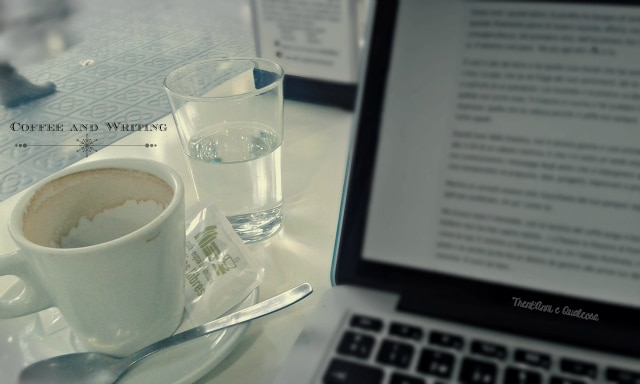 coffee and writing - freelance a barcellona