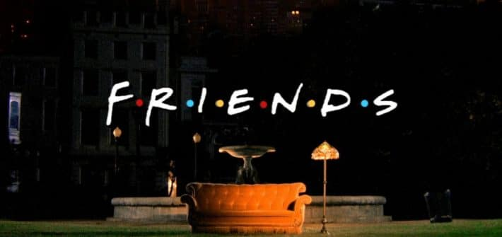 il divano del central perk di friends