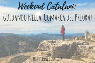 weekend catalani lungo la comarca del priorat